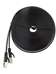 cheap -Ethernet Cable CAT7 Network Cable Flat Cable Patch Cord 15M