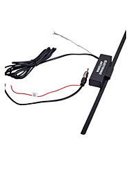cheap -Marsnaska venda quente Decoraes Do Carro Do Carro Antena Do Carro Do Impulsionador Eletrnico FM/AM Radio Antena Windshield Mount 12 v Preto