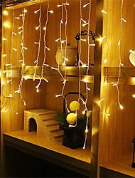 cheap -4m*0.6m Light Sets / String Lights 96 LEDs Warm White / White / Blue Waterproof / Party / Decorative 220-240 V / 110-120 V 1pc