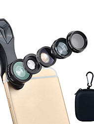 cheap -Mobile Phone Lens Lens with Filter / Fish-Eye Lens / Long Focal Lens Glasses / Aluminium Alloy / ABS+PC 2X 25 mm 10 m 198 ° Creative / Lovely / Funny