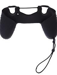 abordables -manette de jeu contrôleur contrôleur playstation boîtier silicone ceinture dragonne pour ps4 / sony ps4 / ps4 slim