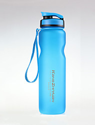 cheap -Kettle Water Bottle 1000 ml PP Durable for Camping / Hiking Traveling Green Grey Blue Pink