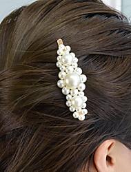 cheap -Women's For Engagement Festival Imitation Pearl Alloy White 1pc