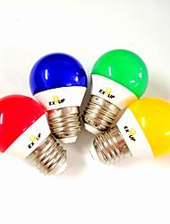 cheap -EXUP® 5 W LED Globe Bulbs 430 lm E14 E26 / E27 G45 11 LED Beads SMD 2835 Party Decorative Holiday Red Blue Yellow 220-240 V 110-130 V