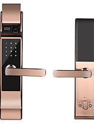 cheap -Factory OEM RX0814 Aluminium alloy lock / Fingerprint Lock / Intelligent Lock Smart Home Security System Fingerprint unlocking / Password unlocking / APP unlocking Home / Office Security Door
