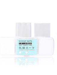 abordables -Coton pour Maquillage Éponges de maquillage simple / Homme / Jeune Maquillage 125 pcs Pur coton Nettoyage / Visage Moderne Fête de Mariage / Usage quotidien Maquillage Quotidien Cosmétique