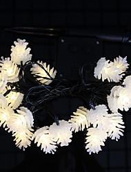 Недорогие -1 комплект светодиодный фонарь солнечный свет строка 50 свет шишка открытый водонепроницаемый свет ночной свет
