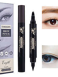 abordables -Eyeliner Sourcils Couleur Imperméable / durable Maquillage 4 pcs Maquillage / Eyeliner / Sourcil Traditionnel / Mode Regalos de Navidad / Mariage / Soirée Maquillage Quotidien / Maquillage
