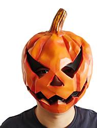 Недорогие -Маски / Товары для Хэллоуина Взрослые Ужас / Хэллоуин Оранжевый Ластик Для вечеринок Halloween Косплэй аксессуары Хэллоуин костюмы