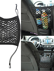cheap -Universal seat double storage net bag storage bag storage net debris bag auto accessories modification accessories