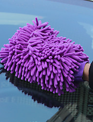 Недорогие -1шт очистки автомобиля мыть перчатки аксессуар инструмент многофункциональные перчатки очистки инструмента - случайный цвет