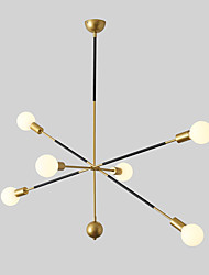 cheap -JSGYlights 6-Light 90 cm Chandelier Metal Sputnik Painted Finishes Chic & Modern Modern 110-120V 220-240V