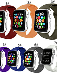 cheap -Smartwatch Band for Apple Watch Series 5/4/3/2/1 Silicone Sport Band iwatch Strap