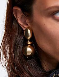 cheap -Women's Drop Earrings Dangle Earrings Geometrical European Trendy Fashion Modern Earrings Jewelry Gold / Silver For Party Carnival Prom Work 1 Pair