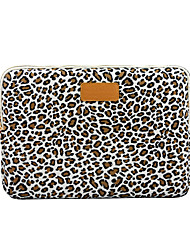 cheap -13.3 14 15.6 Leopard Pattern Canvas Floral Print Shock Proof Laptop Cover Sleeves Shakeproof Case for Surface/Macbook/HP/Dell/Samsung/Sony Etc