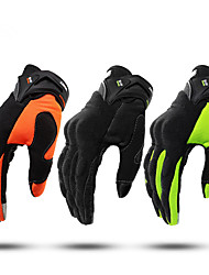 cheap -Full Finger Unisex Motorcycle Gloves Fiber Non Slip / Breathable / Lightweight