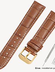 cheap -Substitute Tissot 1853 Men's Leather Watch with Locke Women's Leather King Casio Longines Bracelet Accessories 12/14/16/18/19mm