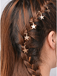 cheap -Women's For Vacation Festival Alloy Gold Silver 5pcs