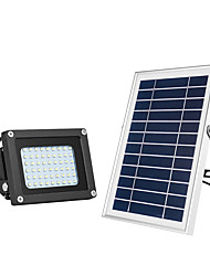 cheap -1pc 15 W LED Floodlight / Lawn Lights / Outdoor Wall Lights Waterproof / Solar / Light Control Warm White+White 3.7 V Outdoor Lighting / Courtyard / Garden 54 LED Beads