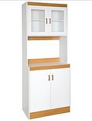 Недорогие -высокий кухонный шкаф с микроволновой печью