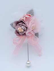 """cheap -Wedding Flowers Boutonnieres Wedding / Special Occasion Other Material 5.12""""(Approx.13cm)"""