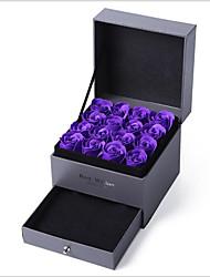 Недорогие -Кубик Другие материалы Фавор держатель с Корсет Подарочные коробки - 1 / коробка