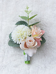 cheap -Wedding Flowers Boutonnieres Wedding / Special Occasion Other Material 3.94 inch