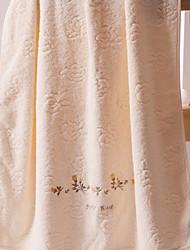 cheap -Superior Quality Bath Towel, Solid Colored 100% Cotton Bathroom 1 pcs