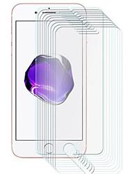 Недорогие -AppleScreen ProtectoriPhone 8 Pluss HD Защитная пленка для экрана 10 ед. Закаленное стекло