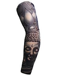 cheap -1 pcs Temporary Tattoos Safety / Creative / Light and Convenient brachium Nylon Sleeve Tattoos