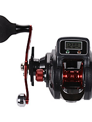 cheap -Digital Display Baitcasting Reel 6.3:1 Gear Ratio, 16+1BB Freshwater & Saltwater for Bait Casting / Jigging Fishing / Freshwater Fishing