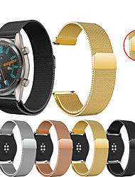 abordables -Bracelet de Montre  pour Huawei Watch GT / Watch 2 Pro Huawei Bracelet Sport / Bracelet Milanais Métallique / Acier Inoxydable Sangle de Poignet