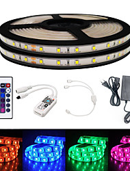 cheap -10M Smart WIFI LED Light Strips RGB Tiktok Lights SMD 2835 9mm Light With 24Keys 600LED IP65 Not Waterproof DC12V With 5A EU Power