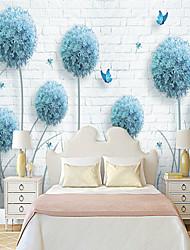 cheap -Hydrangea Flower Suitable for TV Background Wall Wallpaper Murals Living Room Cafe Restaurant Bedroom Office XXXL(448*280cm)