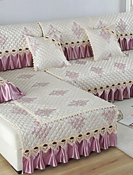 cheap -Sofa Cushion Romantic / Classic / Contemporary Jacquard / Embossed / Quilted Cotton / Polyester / Cotton Blend Slipcovers