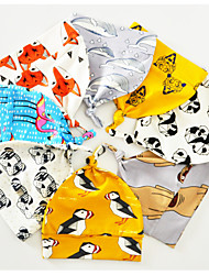 cheap -Newborn / Infant Unisex Active / Basic Crane / Tiger / Flamingos Geometric / Animal / Cartoon Stylish / Animal Pattern / Printing Cotton / Nylon Hats & Caps Light Blue / Light Brown / Khaki One-Size