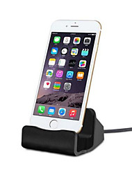 cheap -Phone Desk Holder Charger Mobile Stand for For IPhone X 8 7 6s 6 Plus I Phone 5 5S SE Charging Dock Desk Charger Docking Station