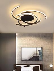cheap -1-Light 75 cm Flush Mount Lights Aluminum Silica gel Geometrical Painted Finishes Artistic / LED 110-120V / 220-240V