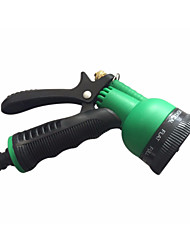 cheap -Plastic Copper Multifunction Water Guns 7 Pattern Water Nozzle Household Garden Car Wash Water Gun Nozzle Sprayer