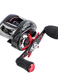 cheap -Fishing Reel Baitcasting Reel 6.3:1 Gear Ratio+12 Ball Bearings Right-handed / Left-handed Sea Fishing / Freshwater Fishing / Bass Fishing