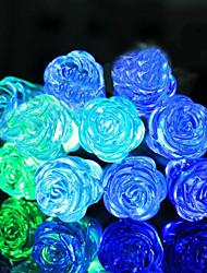 cheap -1.5m String Lights 10 LEDs 1 set Blue Decorative AA Batteries Powered