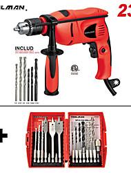cheap -Electric Power Drill Driver 3/8 W/ HSS Drill Bit 23 pcs for DeWalt & Makita