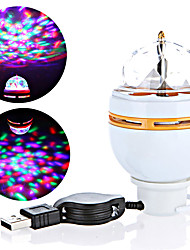 cheap -Lovely LED Projector Light Tiktok Star Light Nebula Projector Stage Light Spot Light Easy Install  RGB 3W 3 LED Beads Commercial Home Office Living Room / Dining Room