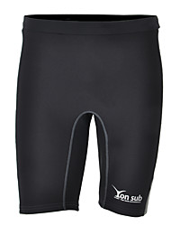 cheap -YON SUB Men's Boys' Wetsuit Shorts 1mm Neoprene Shorts Thermal / Warm Quick Dry Diving Surfing Water Sports Solid Colored Autumn / Fall Spring Summer / Micro-elastic