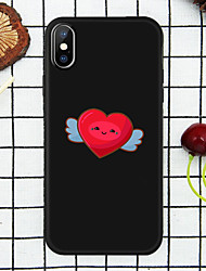 cheap -Colorful  Love  Shape  Case for  iPhone Xs Max  /8 /7 Plus /  6S / 6 PLUS / XR / XS  /X /  8/  7/   6  /6S