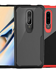 cheap -Case For OnePlus OnePlus 6 / One Plus 6T / One Plus 7 Translucent Back Cover Solid Colored Hard PC