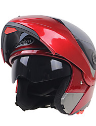 cheap -Motorcycle Helmets Flip Up Double Visors Racing Full Face Helmet