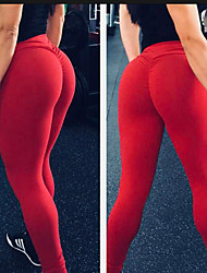 cheap -Women's Running Pants Track Pants Sports Pants Athletic Pants / Trousers Bottoms Sport Yoga Running Pilates Breathable Quick Dry Compression Black Red Grey Blue Fashion / Stretchy / Sweat-wicking