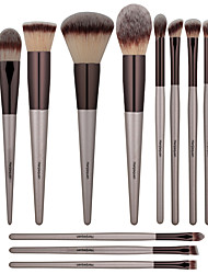 cheap -Professional Makeup Brushes 14pcs Full Coverage Comfy Wooden / Bamboo for Makeup Brush