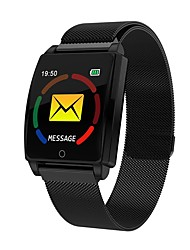cheap -DS126 Smart Watch BT Fitness Tracker Support Notify & Heart Rate Monitor Compatible Samsung/Sony Android Mobiles/Apple IPhone